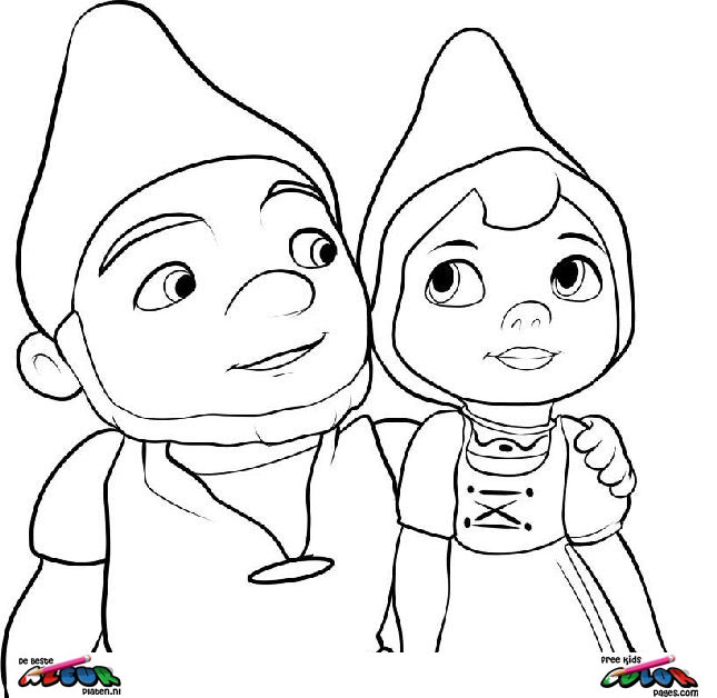 Gnomeo-and-Juliet005 - Printable coloring pages