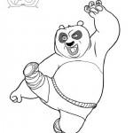Kung Fu Panda coloringpages -