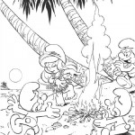 The Smurfs coloringpages - The Smurfs013