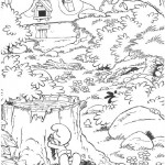 The Smurfs coloringpages - The Smurfs021
