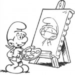 The Smurfs coloringpages - The Smurfs025