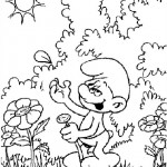 The Smurfs coloringpages - The Smurfs035