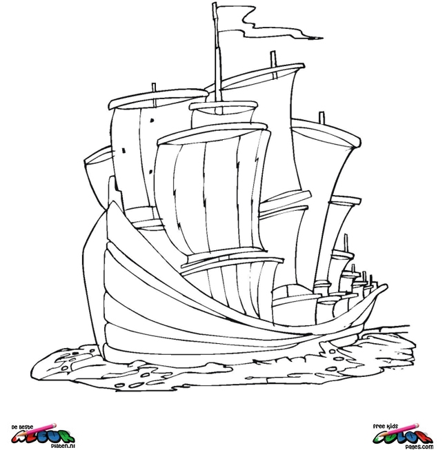 free columbus day coloring pages - photo#28