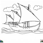Columbus Day coloringpages -
