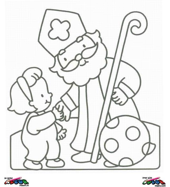 sinterklaas004 printable coloring pages
