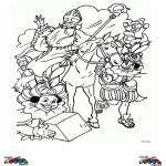 Saint Nicolas coloringpages -