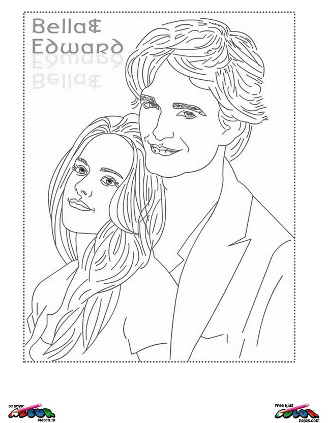 Twilight003 Printable Coloring Pages