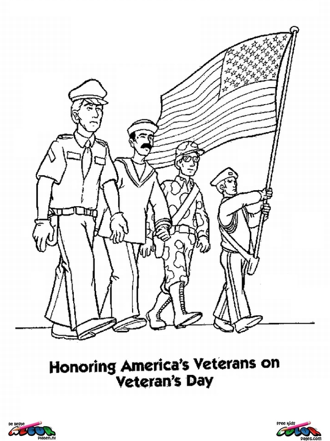 Veterans day018 - Printable coloring pages