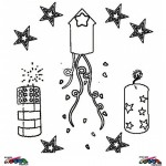 New Year's Eve coloringpages -