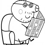 Peppa Pig coloringpages -