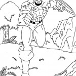The Avengers coloringpages - Captain-America4