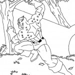 The Avengers coloringpages - Captain-America5