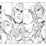 The Avengers coloringpages - The_Avengers___Style_Test_by_alvinlee