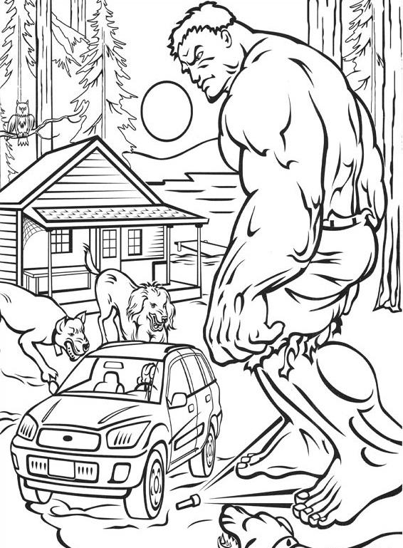 hulk100 Printable coloring pages