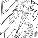 The Incredible Hulk coloring pages 3