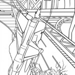The Avengers coloringpages - hulk-103