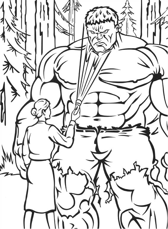 hulk99 printable coloring pages
