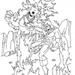 The Incredible Hulk coloring pages 16