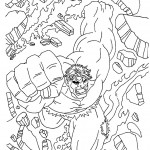 The Incredible Hulk coloring pages 13