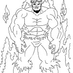 The Incredible Hulk coloring pages 10