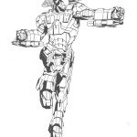 Iron Man coloring pages 8