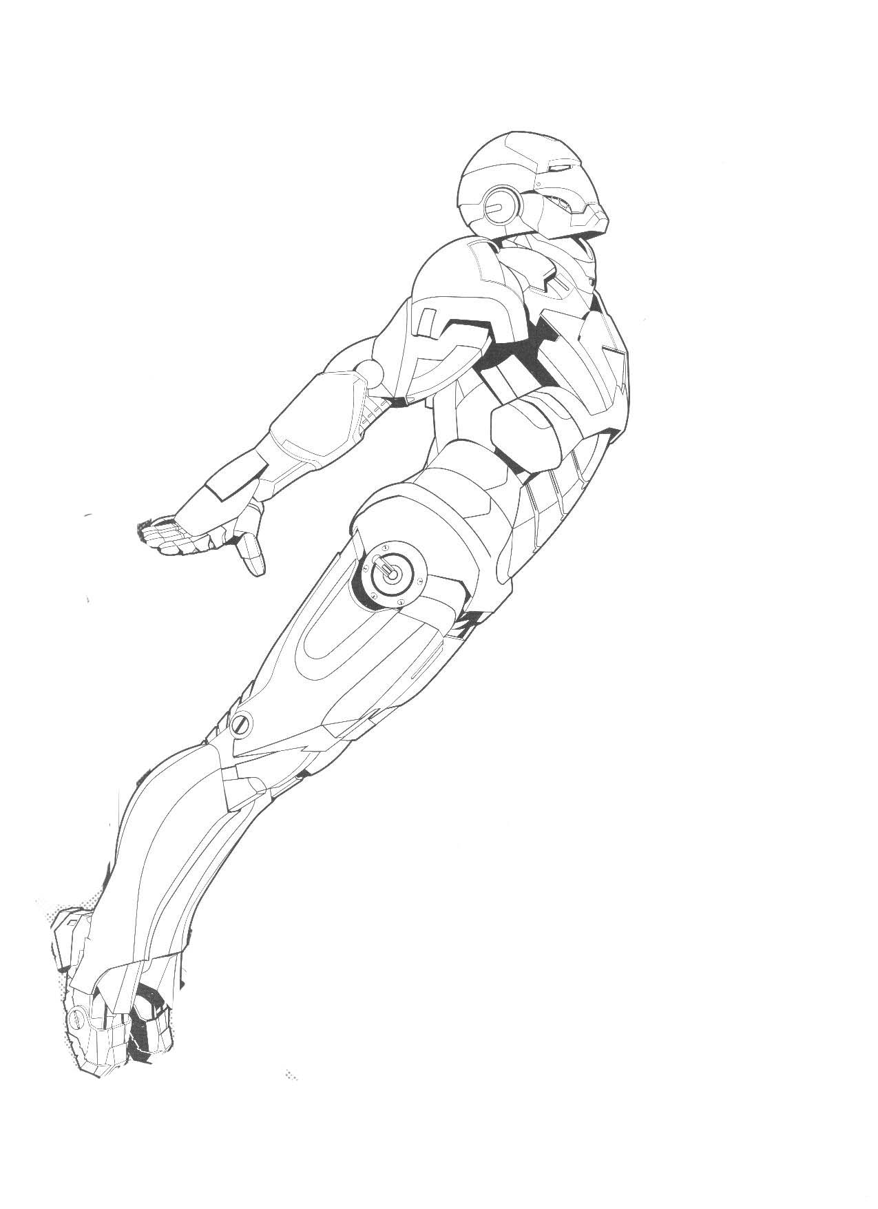 New iron man coloring page printable coloring pages for Iron man 2 coloring pages to print
