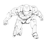 Iron Man coloring pages 5