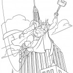 The Avengers coloringpages - thor-28