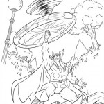 The Avengers coloringpages - thor-29
