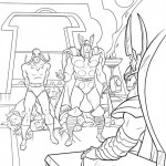 The Avengers coloringpages - thor-32