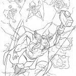 The Avengers coloringpages - thor-33