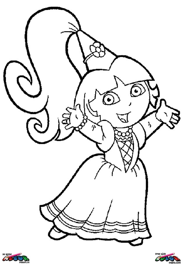 Dora The Explorer017 Printable Coloring Pages