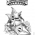 Skylanders coloring pages 10
