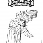 Skylanders coloring pages 9