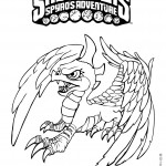 Skylanders coloring pages 8