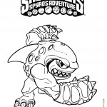 Skylanders coloring pages 7