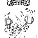 Skylanders coloring pages 6