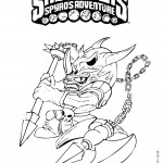 Skylanders coloring pages 5