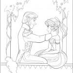 Frozen coloringpages -