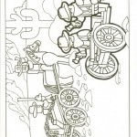 Lego coloringpages -