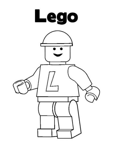 Lego (16) - Printable coloring pages