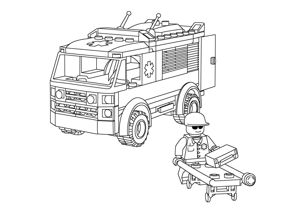lego 19 printable coloring pages