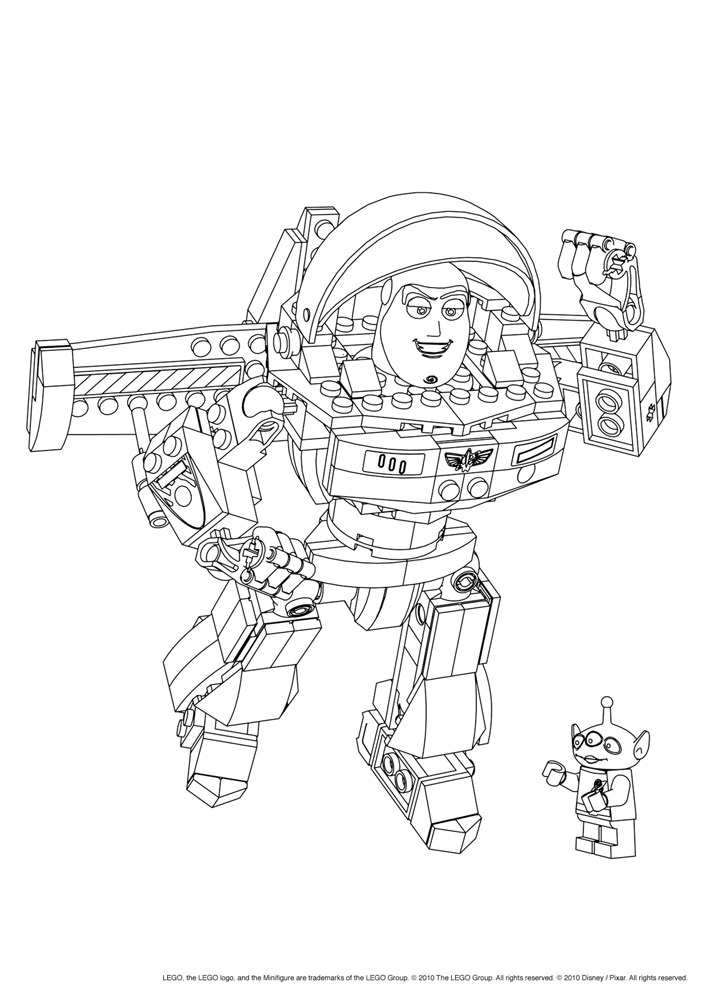 Lego 22 Printable Coloring Pages