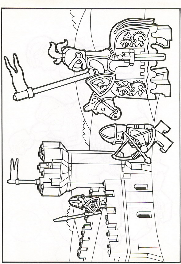 Lego 6 Printable coloring pages