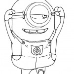 Despicable Me coloringpages -