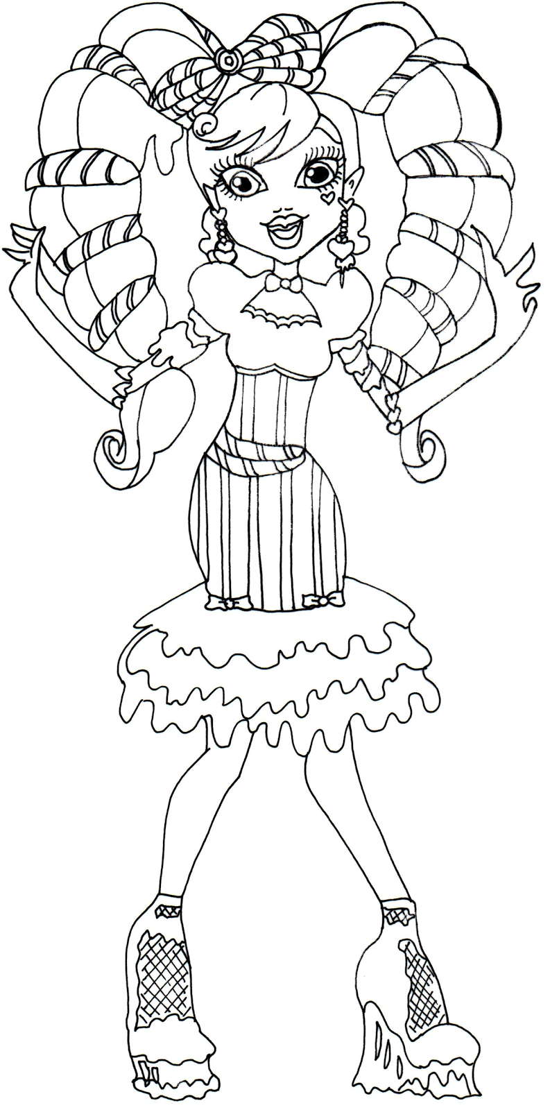 Monster High (37) - Printable coloring pages