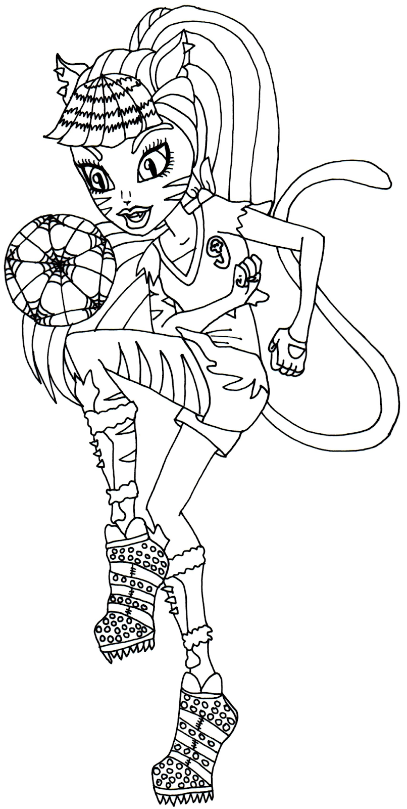 Monster High (42) - Printable coloring pages