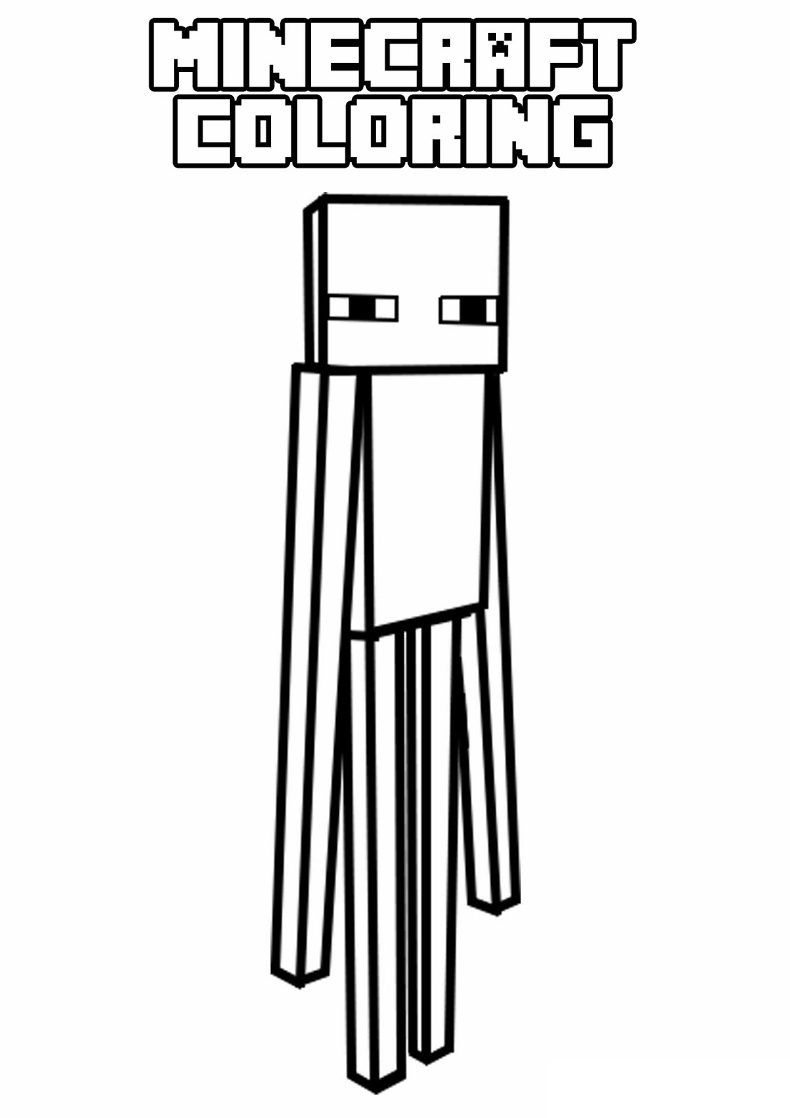 Minecraft (6) - Printable coloring pages