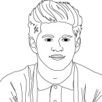 One Direction coloring pages - Printable coloring pages