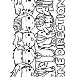 One Direction coloringpages -